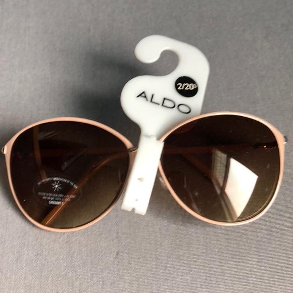 1e9c42acbb8 Aldo Accessories - Aldo peach frame brown lens sunglasses